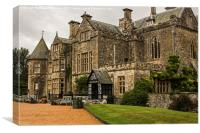 Medieval Palace House, Canvas Print