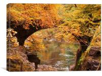 The Hermitage, Dunkeld., Canvas Print