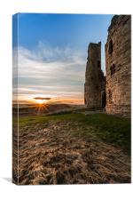 Dunstanburgh Castle, Canvas Print