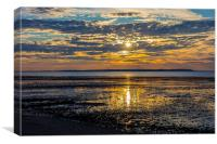 Whitstable Sunset, Canvas Print