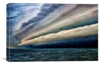 Storm Front at Sea, Canvas Print
