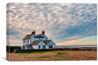 The Old Neptune, Beach Pub, Whitstable,Kent,, Canvas Print