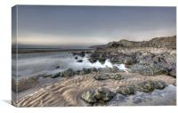 January Day on Sandymouth, Canvas Print
