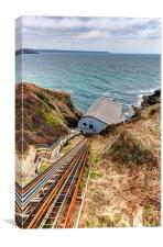 The Lizard Lifeboat Station, Canvas Print