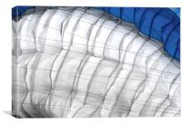 Paraglider Canopy, Canvas Print