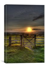 Gateway to the Sunset, Canvas Print