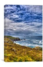 Lands End and Longships, Canvas Print