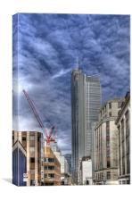 London's Ever Changing Skyline, Canvas Print