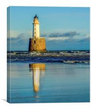 Rattray head lighthouse, Canvas Print