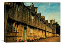 The Almshouses of Chipping Campden, Canvas Print