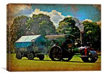 Age of Steam, Canvas Print
