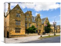 The Lygon Arms, Broadway., Canvas Print