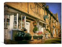 Sunny Chipping Campden, Canvas Print