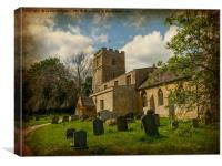 Church of St Peter, Canvas Print