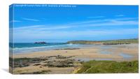 Gwithian Sands, Cornwall, Canvas Print