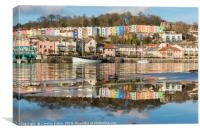 Bristol Reflections, Canvas Print