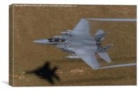 Low Level F-15, Canvas Print