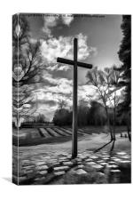 Cross of Remembrance, Canvas Print