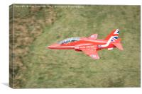 Red Arrow, Canvas Print
