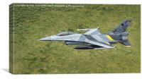 Belgian Air Force F16 Centenary, Canvas Print