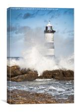 Stormy Lighthouse, Canvas Print
