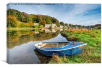 Autumn in Cornwall, Canvas Print