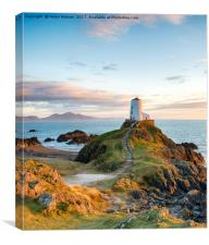 The Anglesey Coast, Canvas Print