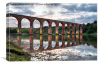 Royal Border Bridge at Berwick on Tweed, Canvas Print