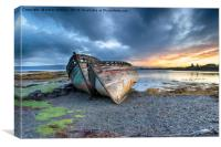 Stormy Sunrise at Salen on the Isle of Mull, Canvas Print