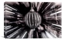 Fastest Bauble in the West, Canvas Print