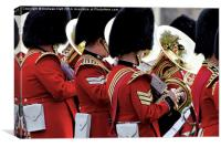 Welsh Guards Band 2, Canvas Print