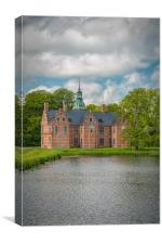 Frederiksborg Castle Bath Palace, Canvas Print