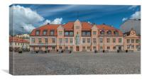 Karlskrona Main Square Building, Canvas Print
