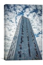 Trondheim Scandic Hotel Tower, Canvas Print