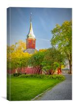Trondheim Hospital Church, Canvas Print
