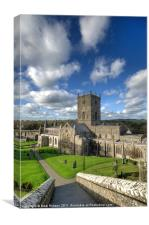 St Davids Cathedral, Canvas Print