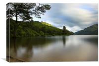 Loch Eck at Jubilee Viewpoint, Canvas Print