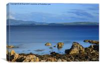 Firth of Clyde from Toward, Canvas Print