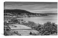Dunoon from Castle Hill, Canvas Print