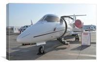 Learjet 60XR by Bombardier Aerospace, Canvas Print