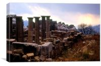 The Roman Temples of Faqra, Canvas Print