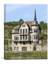 Dinant House for Sale, Canvas Print