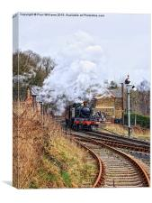 GWR 5164 on the SVR, Canvas Print