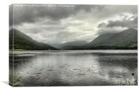 Loch Creran and Mountains, Canvas Print