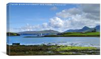 Isle of Canna, Small Isles, Scotland, Canvas Print