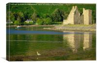Lochranza Castle, Isle of Arran, Scotland, Canvas Print