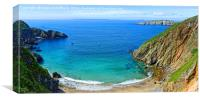 View from Sark towards Further Channel Islands, Canvas Print