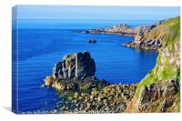 Sark Coast, Canvas Print