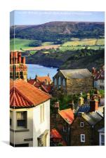 Robin Hood's Bay, Canvas Print