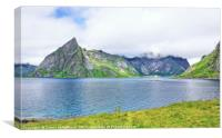 Lofoten Scenery, Canvas Print